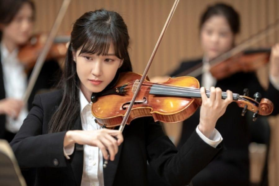 """Park Eun Bin Transforms Into A Graceful Violinist For Upcoming Drama """"Do You Like Brahms?"""""""