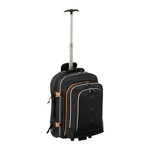 02a511cf1ff967 IKEA - УПТЭККА. Рюкзак с колесиками и телескопической ручкой; можно нести и  везти. Из одного рюкзака получится два – один большой и один маленький.