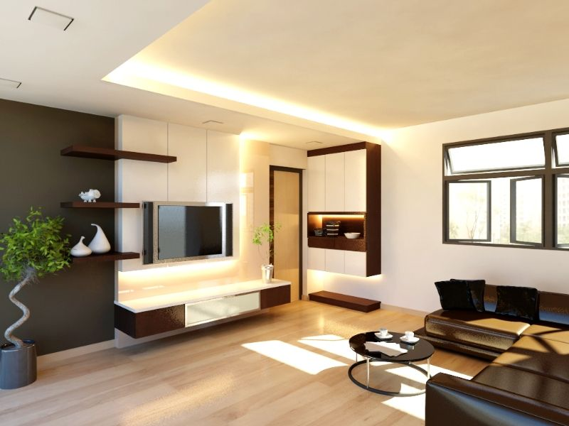 Perspective View Of Living Area Jpg 800 600 Dawson Inspo. Full Size Of Hdb  4 Room Flat Living Design ...