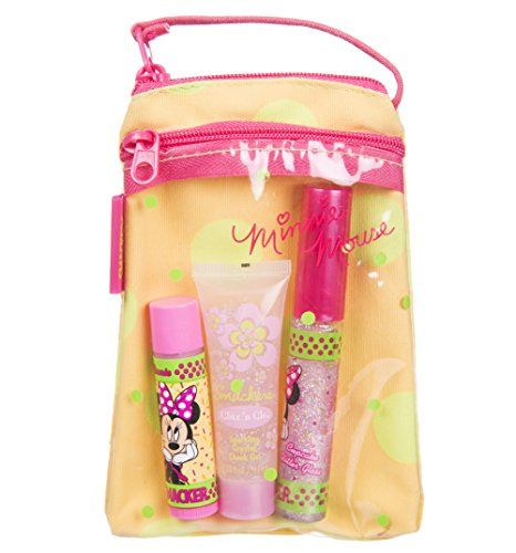 Lip Smacker Minnie Mouse Lip Face Nail Collection Gift Set
