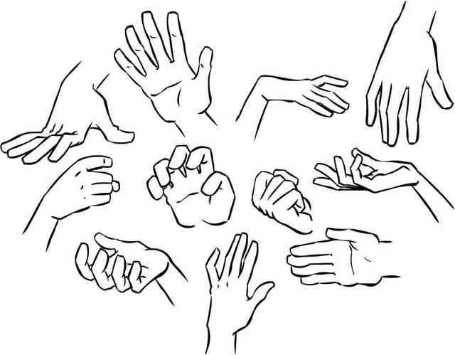 How To Draw Hands Many Different Tutorials And Types Of Hands To Draw The Hardest Thing To Draw Right U How To Draw Hands Hands Tutorial Drawing Tutorial