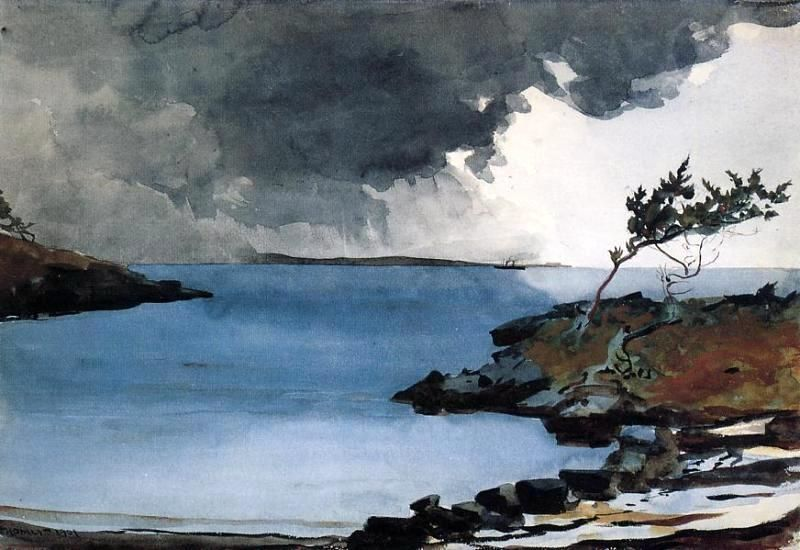 The Coming Storm By Winslow Homer Hand Painted Oil Painting