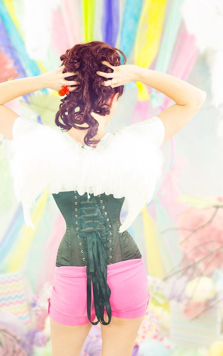 82911e30cf Hello Angel....cotton candy corset heaven Hourglass Shape