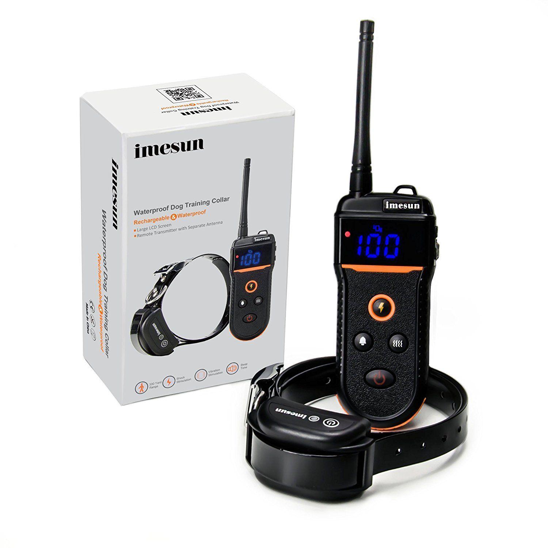 Imesun Remote Dog Training Shock Collar 330 Yard