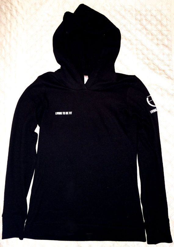 L2BF Thermal Hooded Longsleeve by Living2BFit on Etsy, $30.00