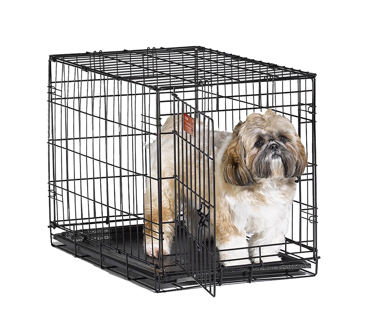 Midwest Icrate Folding Metal Dog Crate You Can Get More Details Here This Is An Amazon Affiliate Link I May Earn Commi Wire Dog Crates Dog Cages Dog Crate