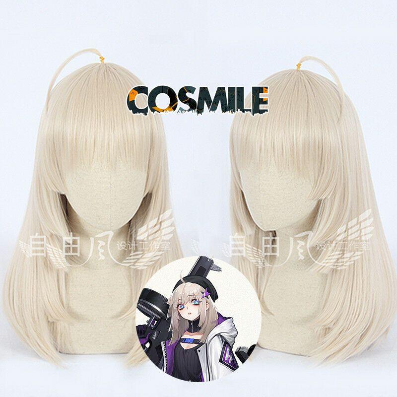 Girls/' Frontline Thompson Contender Cosplay Gray Short Hair Full Wig Game