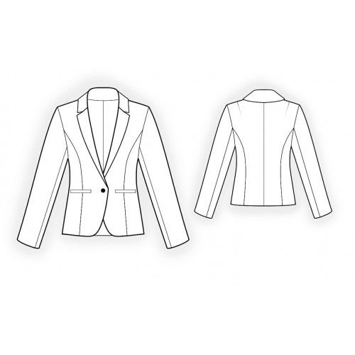 4162 Classical blazer - Jackets/Blazers - Women | Jacket Inspiration ...