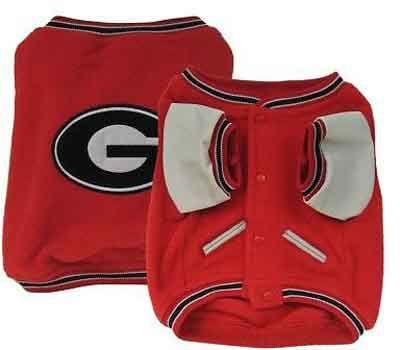 Georgia Bulldogs Dog Jacket - for my Dawgie! ;)