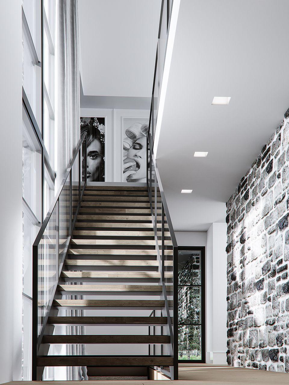 Escalier Dans La Maison escalier de la maison mf+jf | contemporary rustic | modern