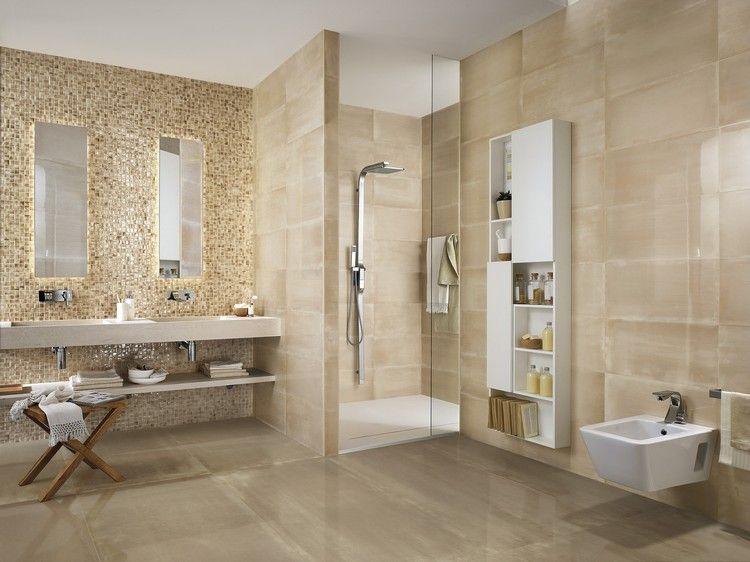 Wandfliesen fürs Bad mit glamourösen Effekt All in One Pinterest - fliesen bad