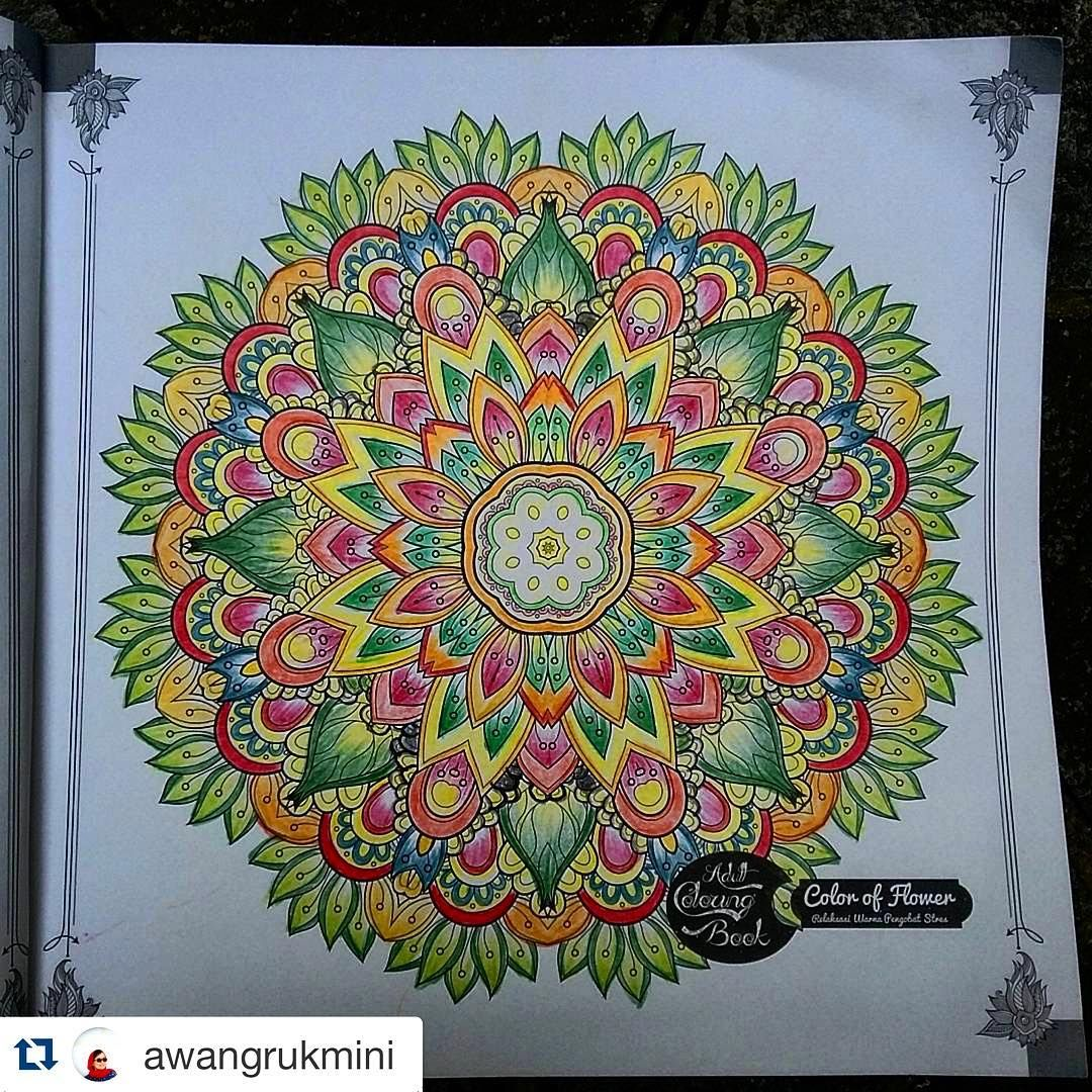 Repost Awangrukmini See Our Pages For Adult Coloring Addict From