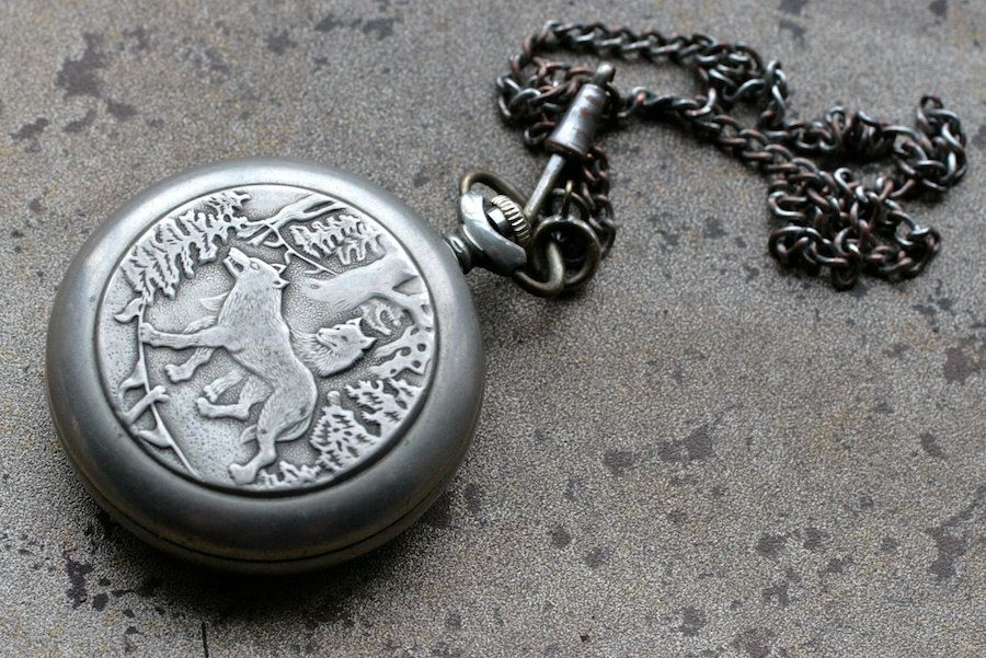 vintage soviet pocket molnija wolf jewelry