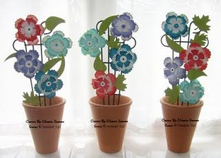 Stampin up in color fun flowers