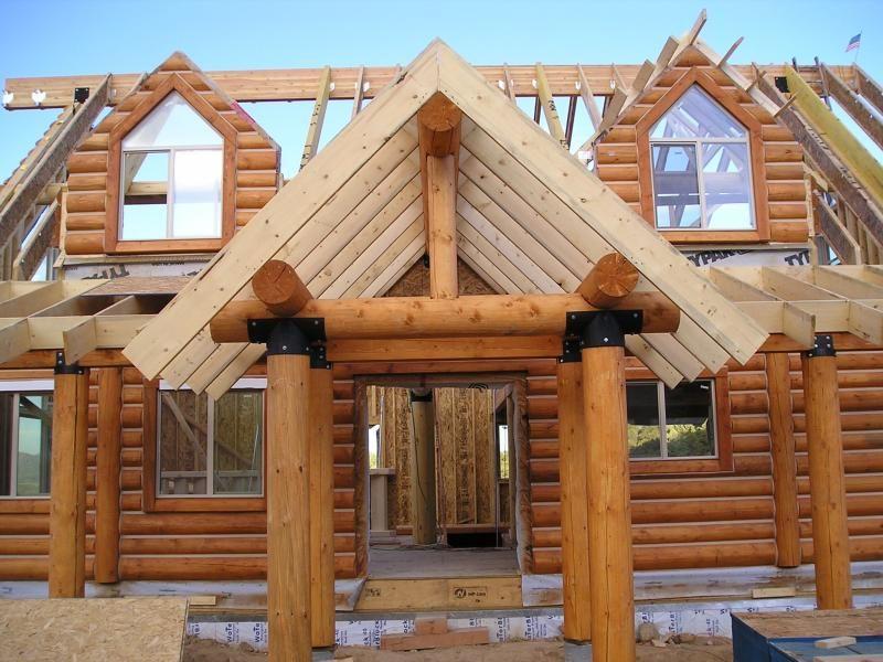 врезается деревянные дома устройство фото расчистили