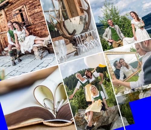 Hochzeit Am Berg Auf Der Rossl Alm In Gerlos Im Zillertal In Tirol Hochzeit Hochzeitsfeier Gerlos