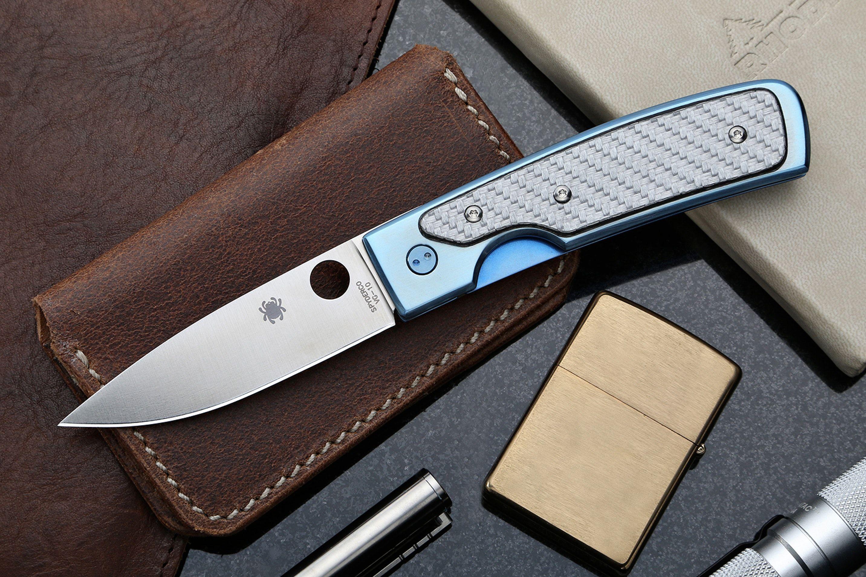 Нож spyderco merlin 13-440 н-19 ножницы