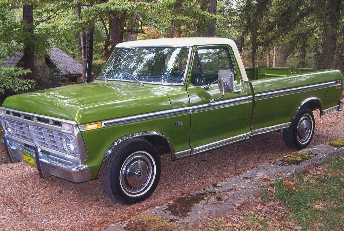 1974 Ford F100 Ranger | pick ups | Pinterest | Camioas