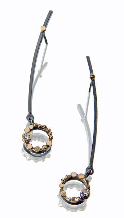 ER269 Diamond Constellation earrings | Sydney Lynch