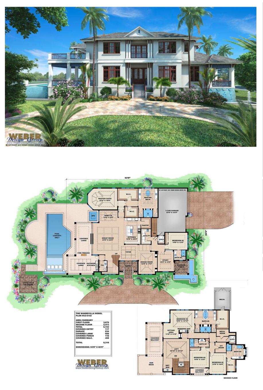 Caribbean House Plan Contemporary Luxury Beach Home Floor Plan Beach House Floor Plans Beach House Flooring Luxury Beach House