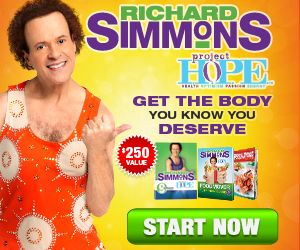 Project Hope Is Richard Simmons Newest And Effective Weight Loss