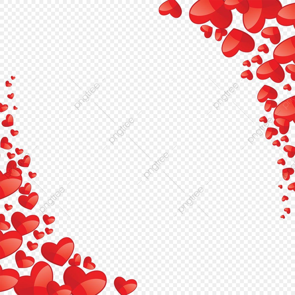 Vetor De Coracao Lindo Coracao Vermelho Quadro Imagem Png E Psd Para Download Gratuito Valentine Clipart Free Clip Art Heart Vector Free