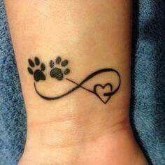 Resultado De Imagen Para Imagenes De Tatuajes De Huellas De Perro