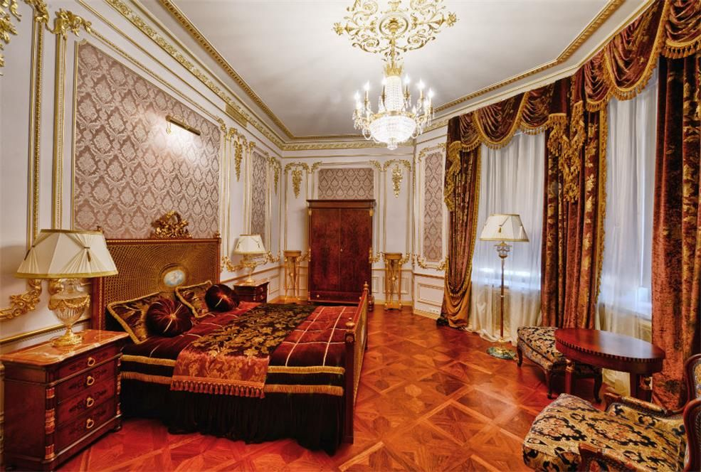 Золотой дворец за 100 млн долларов на Рублёвке luxury pinterestRussian Themed Bedrooms #2