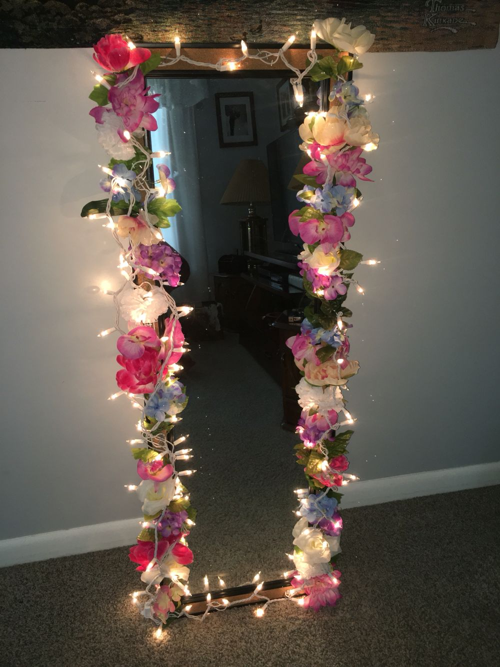 Vanity Body Mirror With Lights