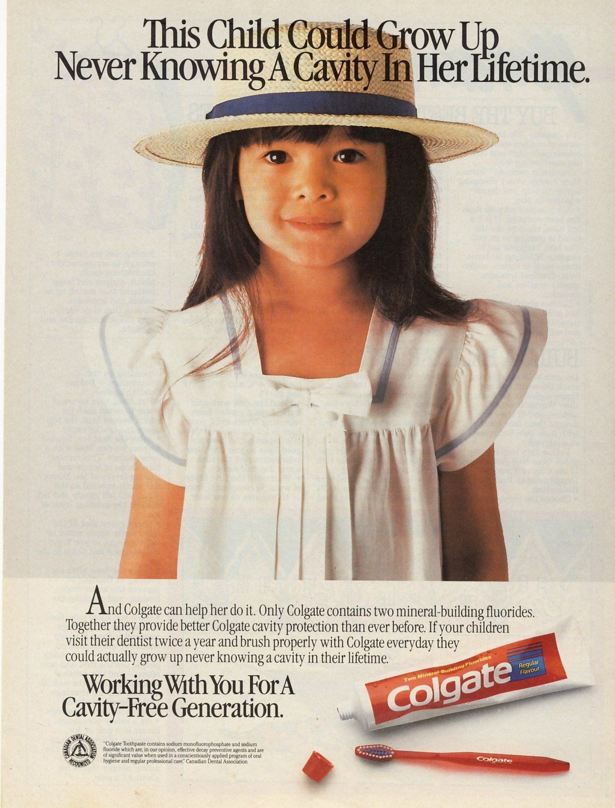 1986 Colgate Toothpaste