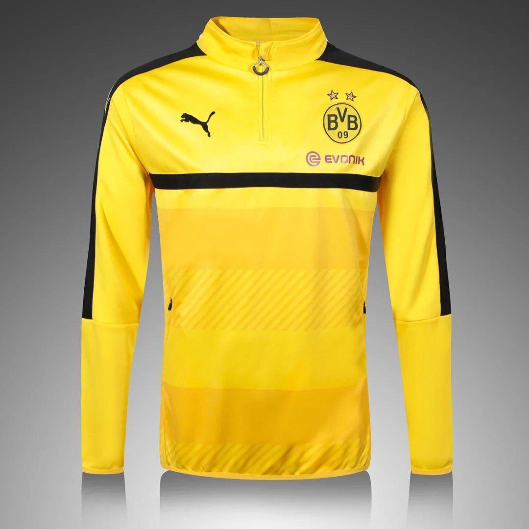 Borussia Dortmund 2016/17 Yellow Long Sleeve Training Top