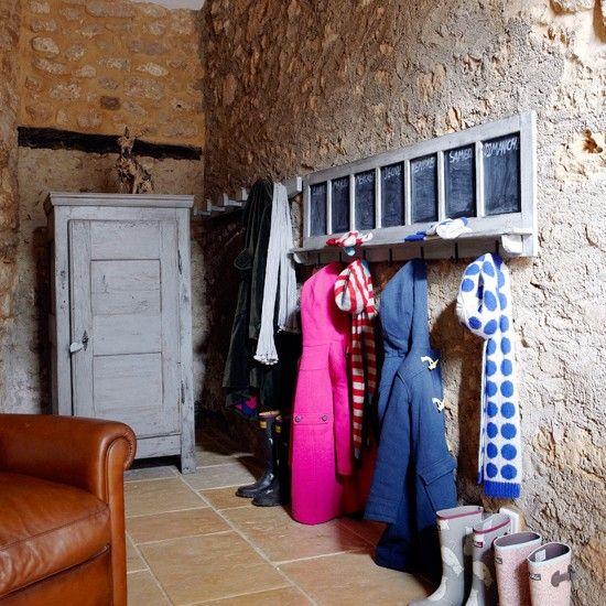 Flur Diele Wohnideen Möbel Dekoration Decoration Living Idea Interiors Home  Corridor   Kleine Diele Mit Freiliegenden Ziegelsteine