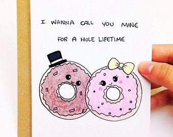 Funny Valentine Card valentines card for boyfriend cute