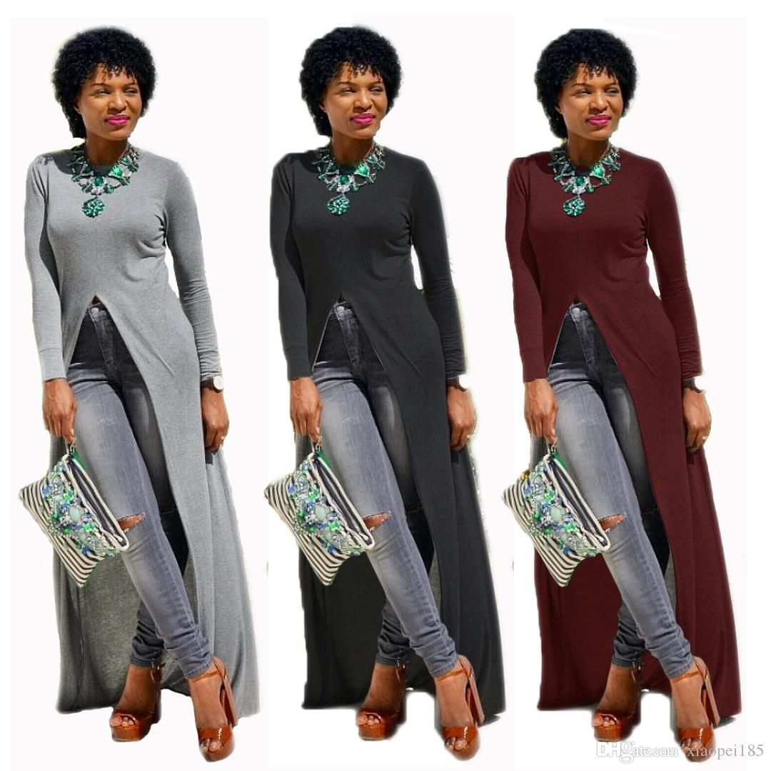 Wholesale wholesale women long sleeves cardigan shirt maxi dresses