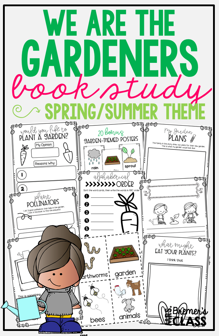 We Are the Gardeners by Joanna Gaines (Distance Learning Friendly)