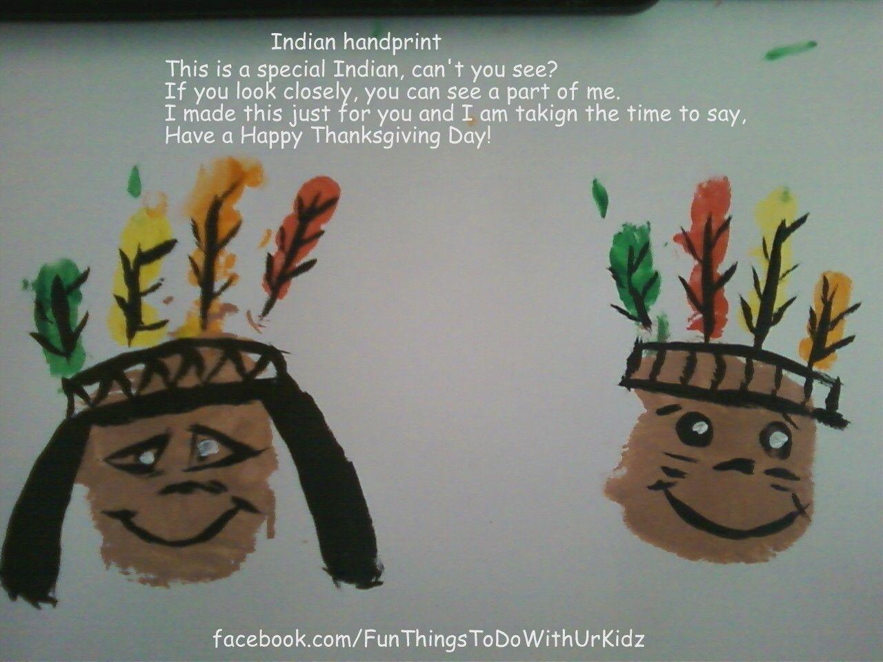Indian Handprint
