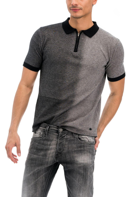 80daef6fe Polo Shirt with Zipper - Salsa