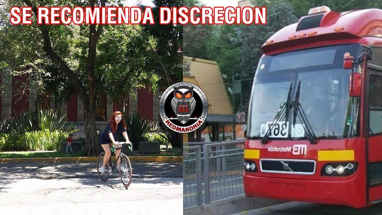 Ciclista es Atropellada por METROBÚS en CDMX mira lo que paso