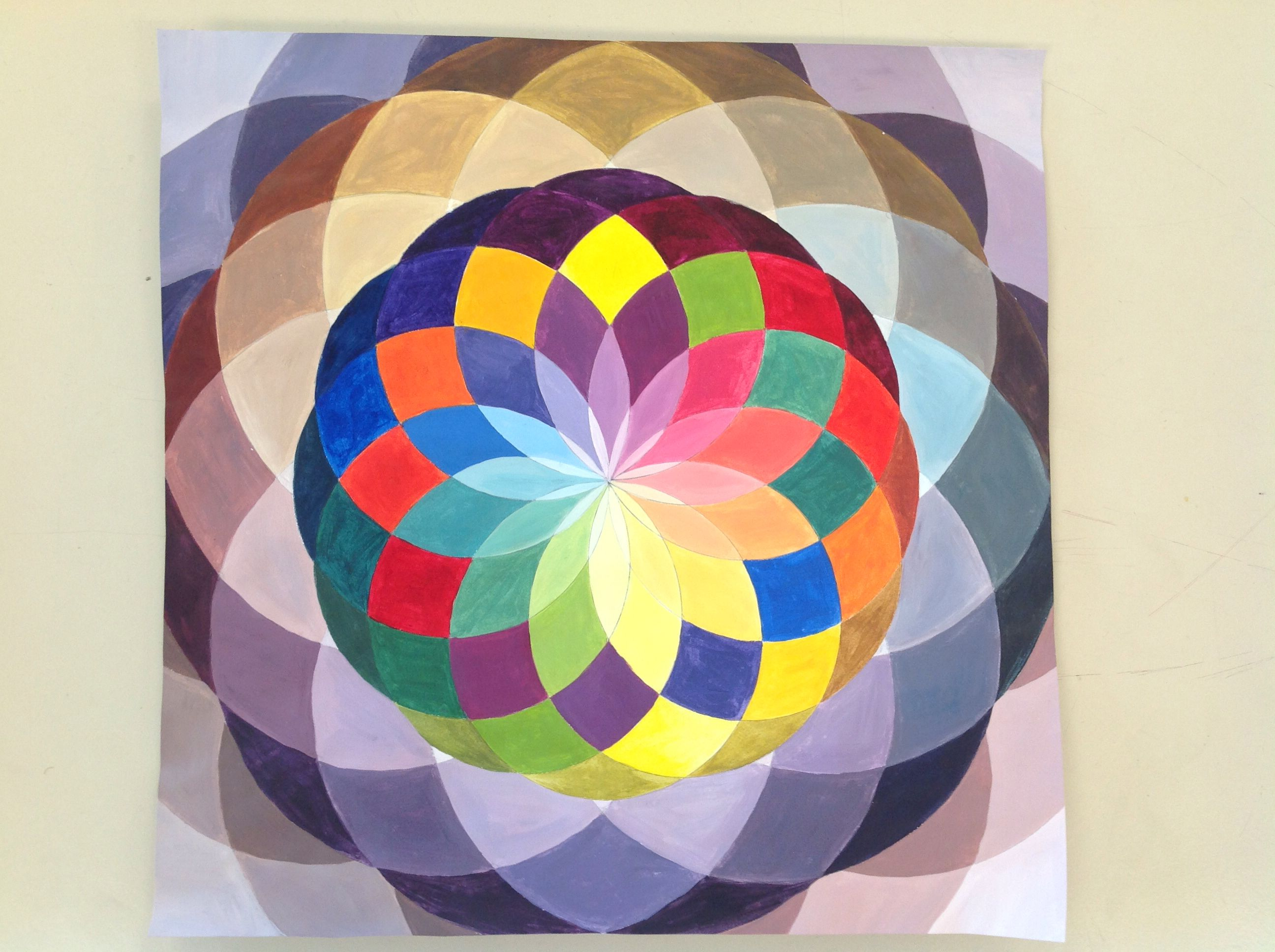 Color Wheel Tints Hues Shades And Tones With