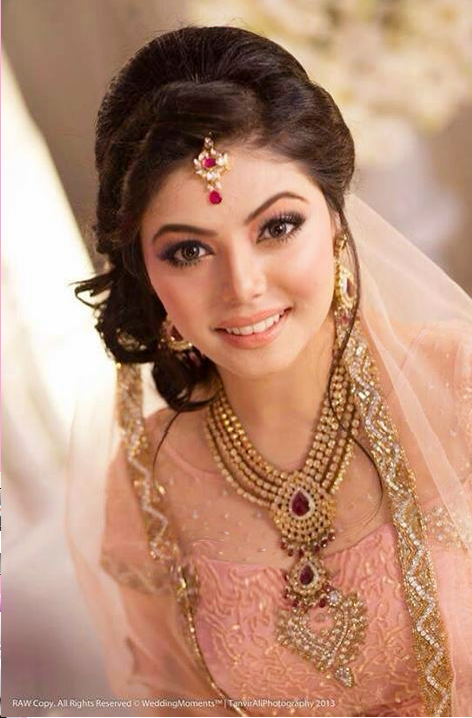 Bangladeshi Bride In Peach