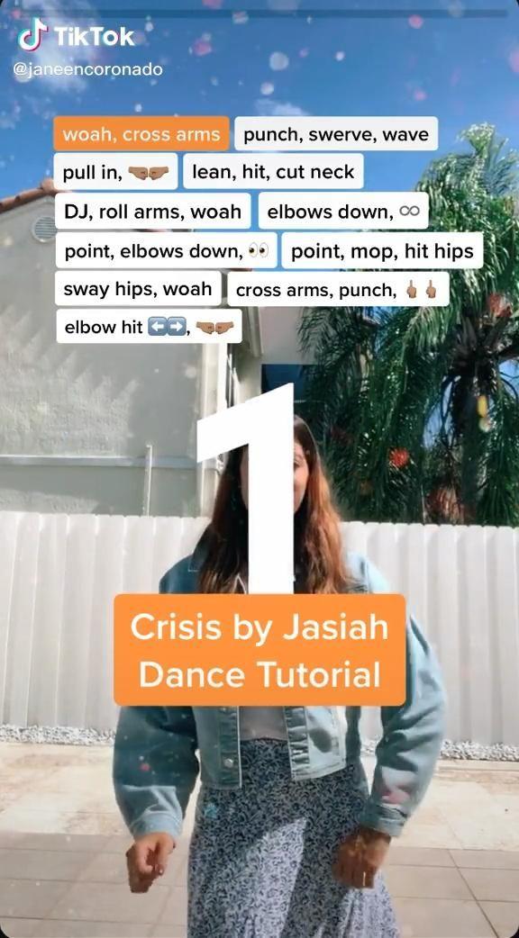 Tik Tok Dance Tutorial Video Dance Choreography Videos Dance Videos Dance Music Videos