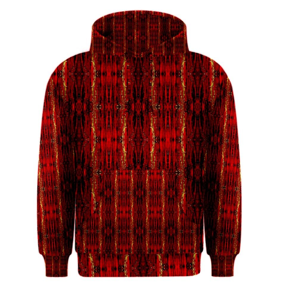Red Gold, Old Oriental Pattern Men's Pullover Hoodies | Unique ...