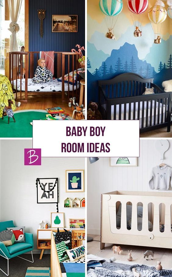 If you are looking for baby boy room ideas you are in the right place. We have collected up some of the most amazing nursery designs we could find. From modern and bright, to eclectic and vintage there is something here to suit every taste.