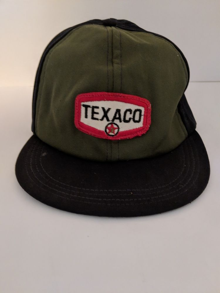 premium selection f6fc2 3edb7 VINTAGE TEXACO PATCH SNAPBACK TRUCKERS HAT   GAS STATION  fashion  clothing   shoes  accessories  mensaccessories  hats (ebay link)