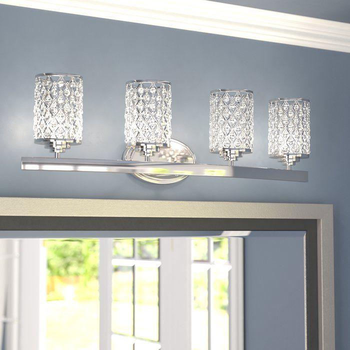 Senters 4 Light Vanity Light Vanity Lighting Bathroom Vanity