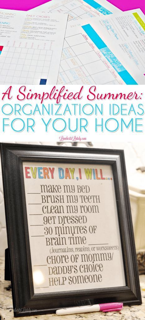 A Simplified Summer: Organization Ideas for Your Home -   #homedecor #womanstyle... - #Home #homedecor #Ideas #Organization #Simplified #Summer #womanstyle #summerhomeorganization