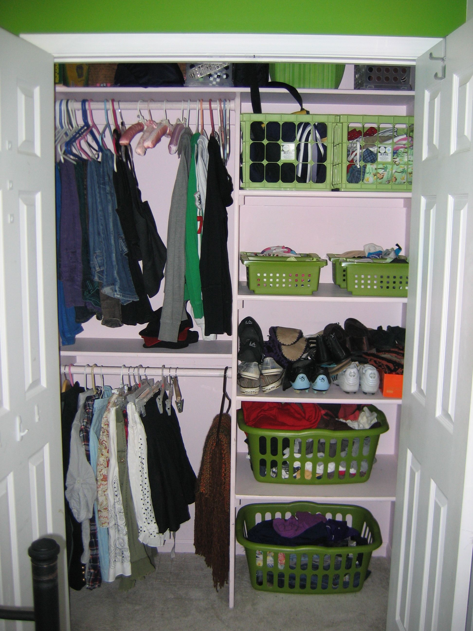 organizing ideas for small closets