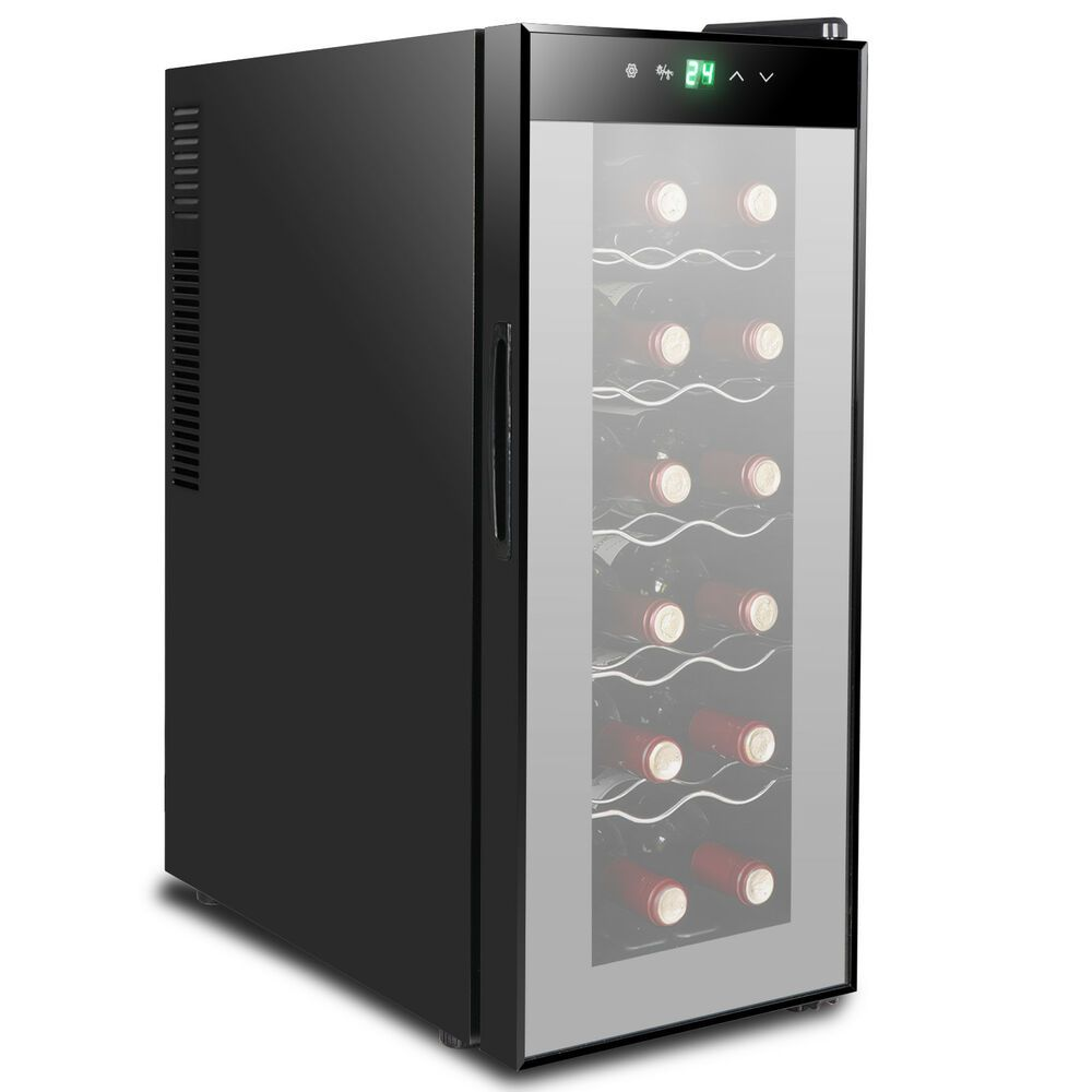 Ebay Sponsored Wine Refrigerator Storing 12 Bottle Circulation Ventila Electric Wine Bottle Opener Wine Bottle Chillers Wine Bottle Opener Corkscrew