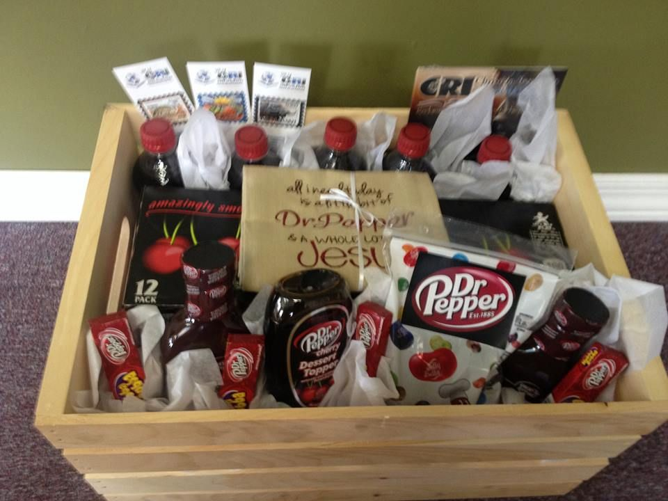 Dr Pepper Gift Basket