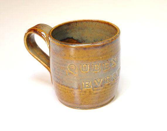 Custom mug for SusanQueen of Everythingrust brown by Emburr